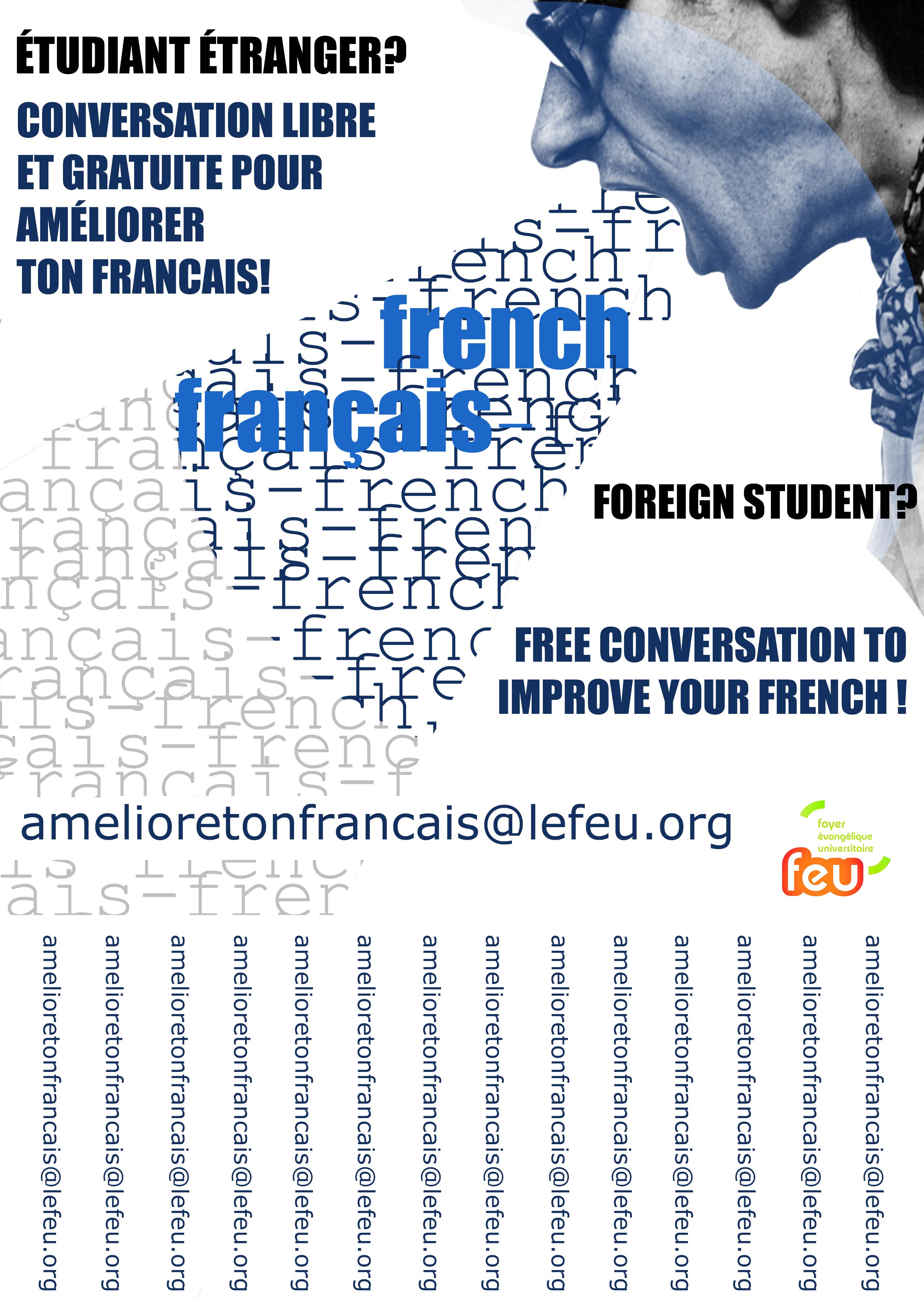 Étudiant étranger à Besançon ? Améliore ton français.