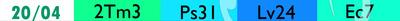 liste des lectures bibliques du 20/04/2021