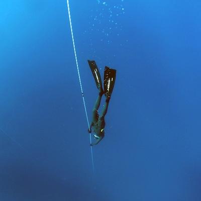 plongeur en apnée