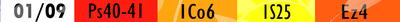liste des lectures bibliques du 01/09/2021
